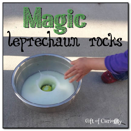 Magic leprechaun rocks